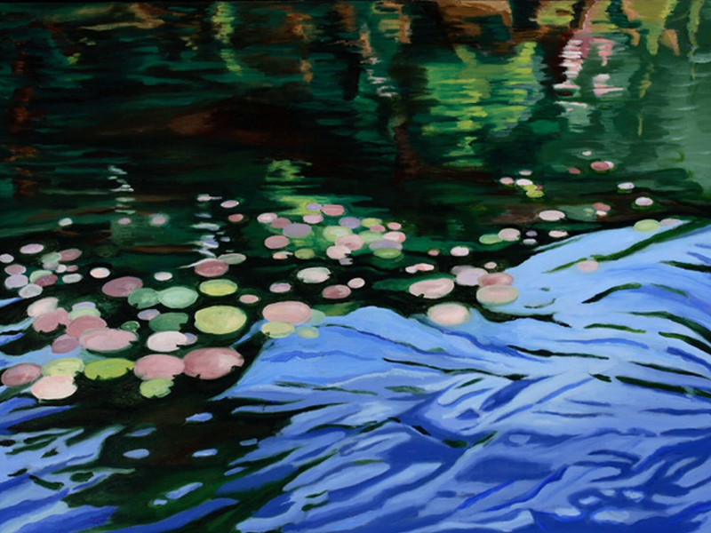Harriet Zabusky-Zand – 'Water lillies'