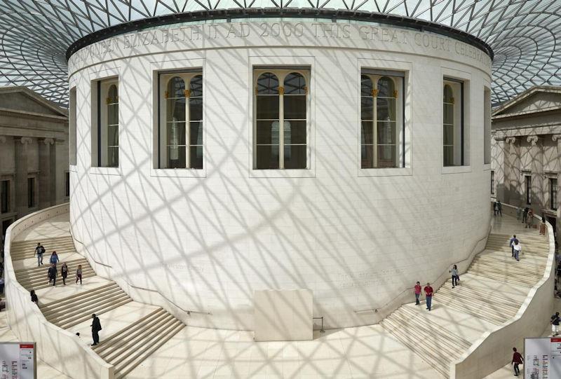 Great Court British Museum © British Museum London