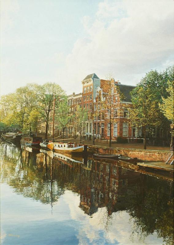 'Brouwersgracht Amsterdam' - Igor Shterenberg