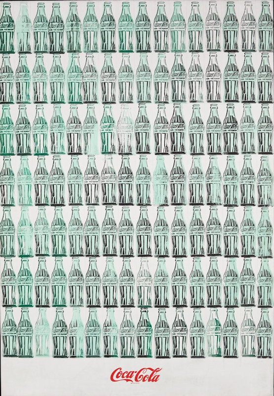 'Green Coca-Cola Bottles', Andy Warhol, 1962. (© 2012 The Andy Warhol Foundation for the Visual Arts, Inc. / Artists Rights Society (ARS), New York)