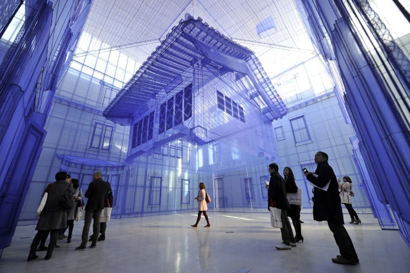 'Home within Home' - Do Ho Suh, National Museum of Modern and Contemporary Art Seoul, © Getty Images, foto: Jung Yeon-Je