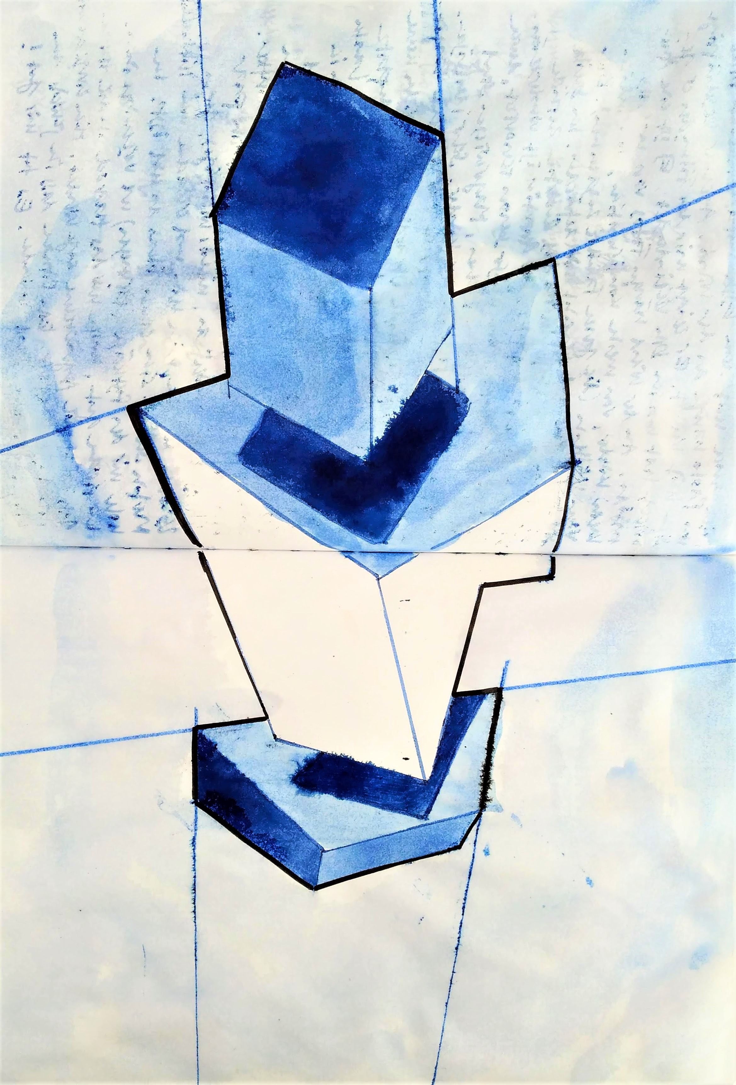 CONCRETE- and GEOMETRICAL ART / Paper / 0820