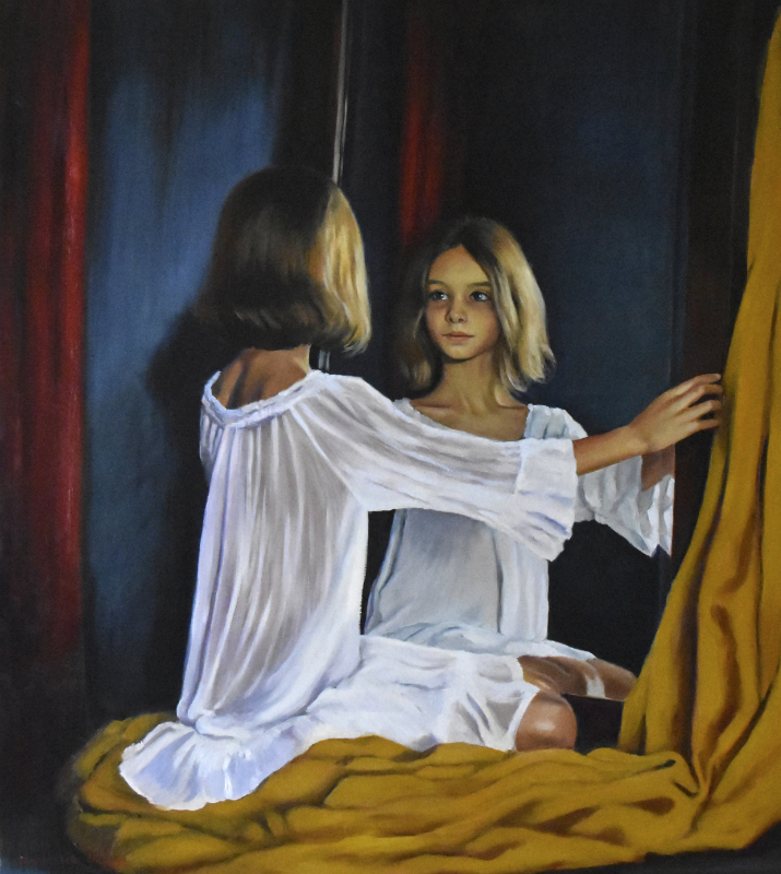Serghei Ghetiu – 'A girl in the mirror'