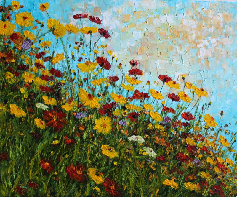 Field Flowers, Haykuhi Khachatryan