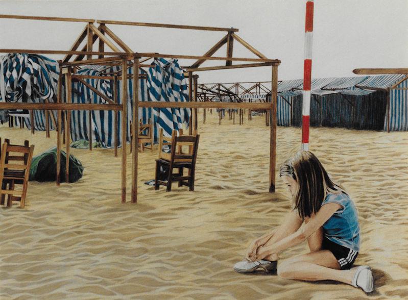 Louis van der Linden - At the seaside