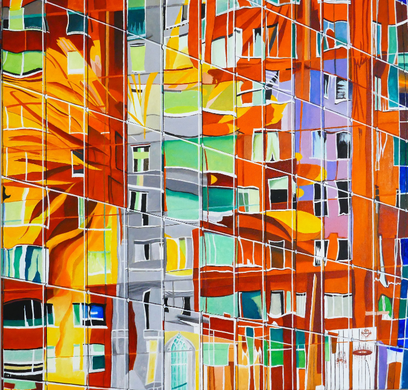 Bert Hermans – 'Illusion 2, Market Hall, Rotterdam'