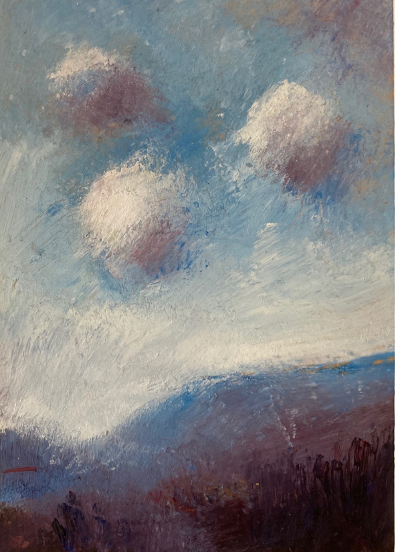 Alan Daysh - 'Clouds in the fading winter light'