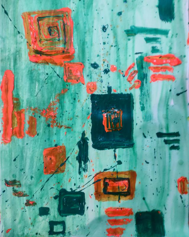 Rabraj Saimy – 'Colorful cubes'