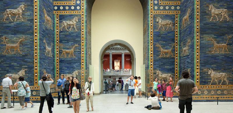 Ishtar gate, Pergamonmuseum © Staatliche Museen zu Berlin / Achim Kleuker