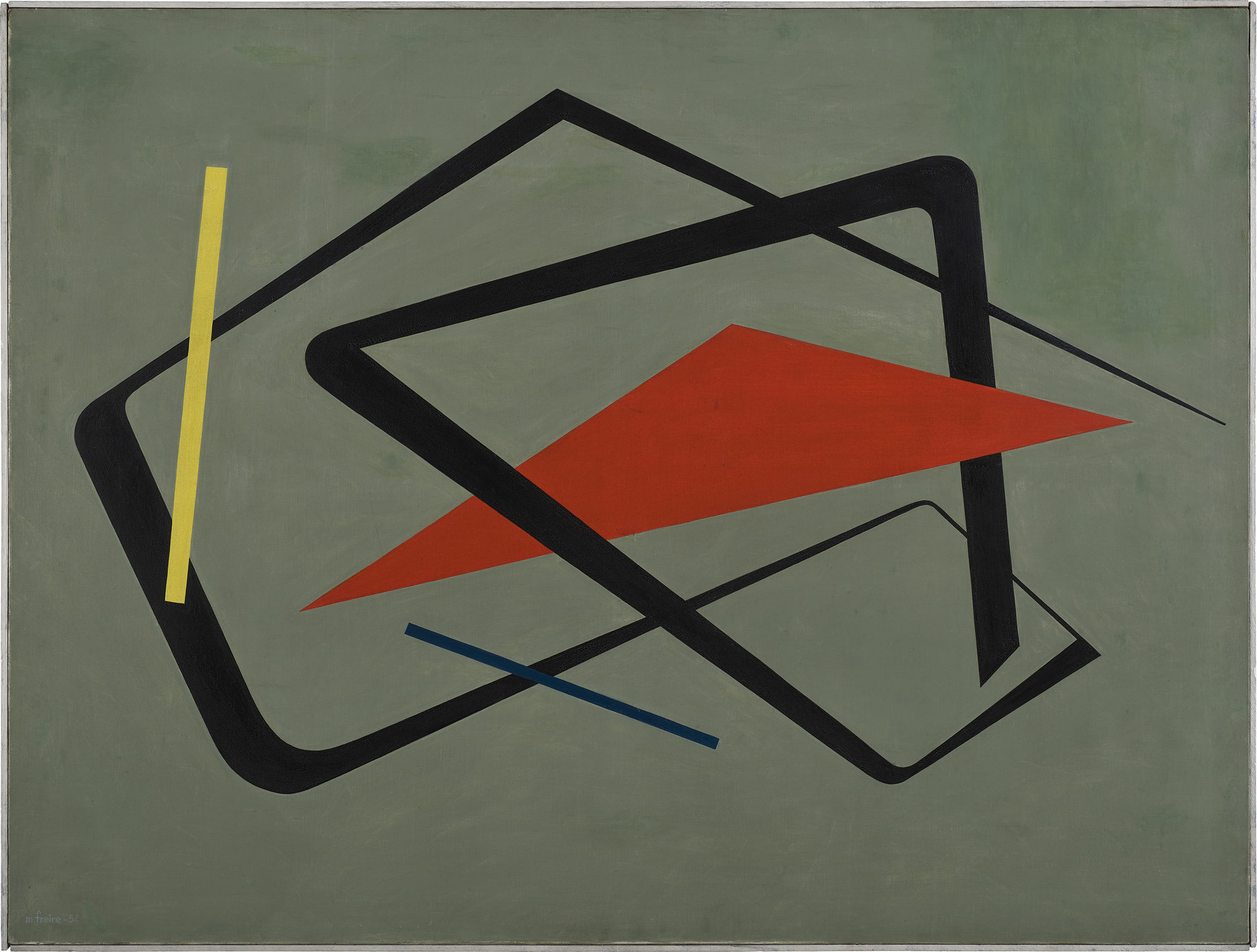 María Freire (Uruguayan, 1917–2015). Untitled. 1954. Oil on canvas, 36 1/4 × 48 1/16″ (92 × 122 cm). The Museum of Modern Art, New York.