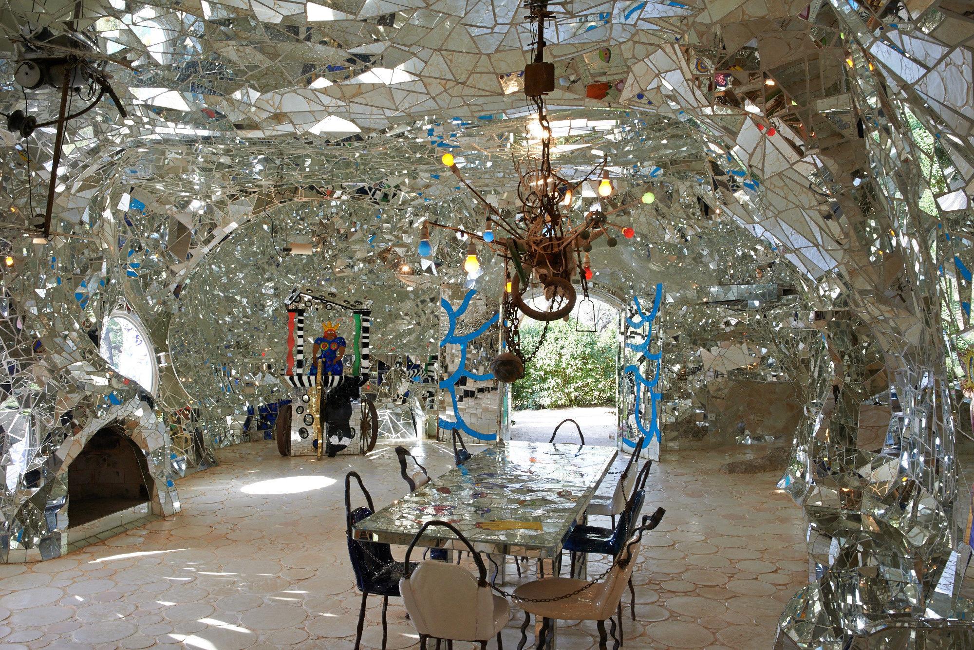 Niki de Saint Phalle. Tarot Garden, Garavicchio, Italy.