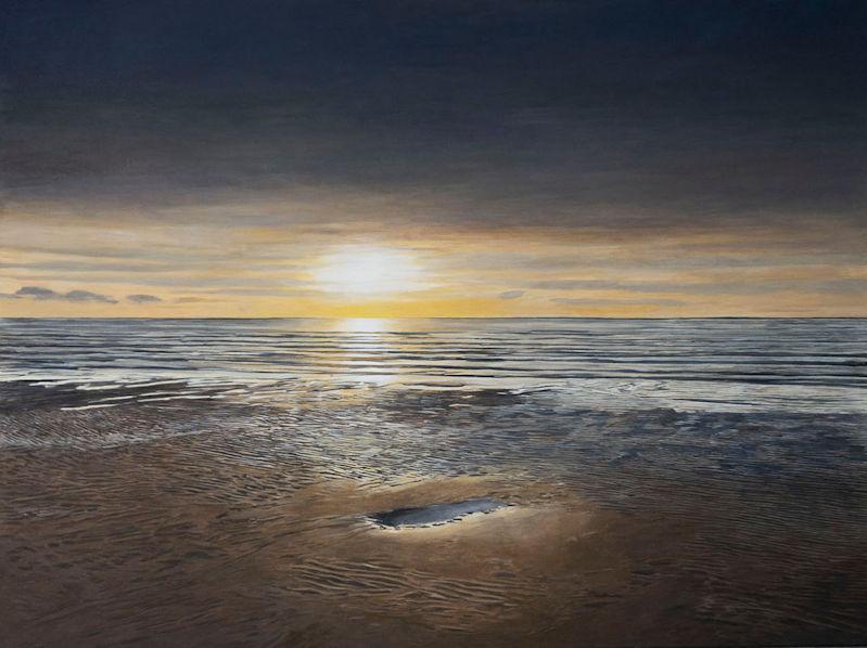 Louis van der Linden - Ondergaande Zon (Setting Sun)