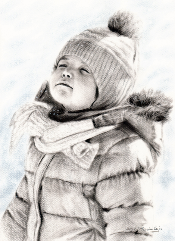 'Snow Girl' - Danguole Serstinskaja