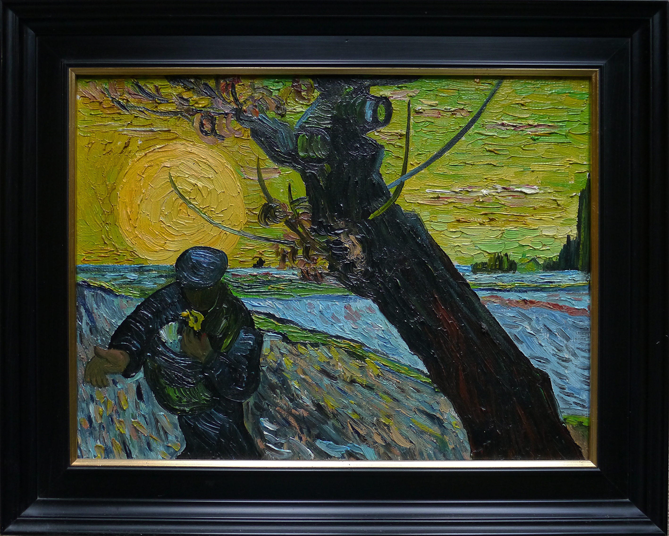 Excellent copy of the Sower by Vincent van Gogh Cornell van Loon | €15.000,-