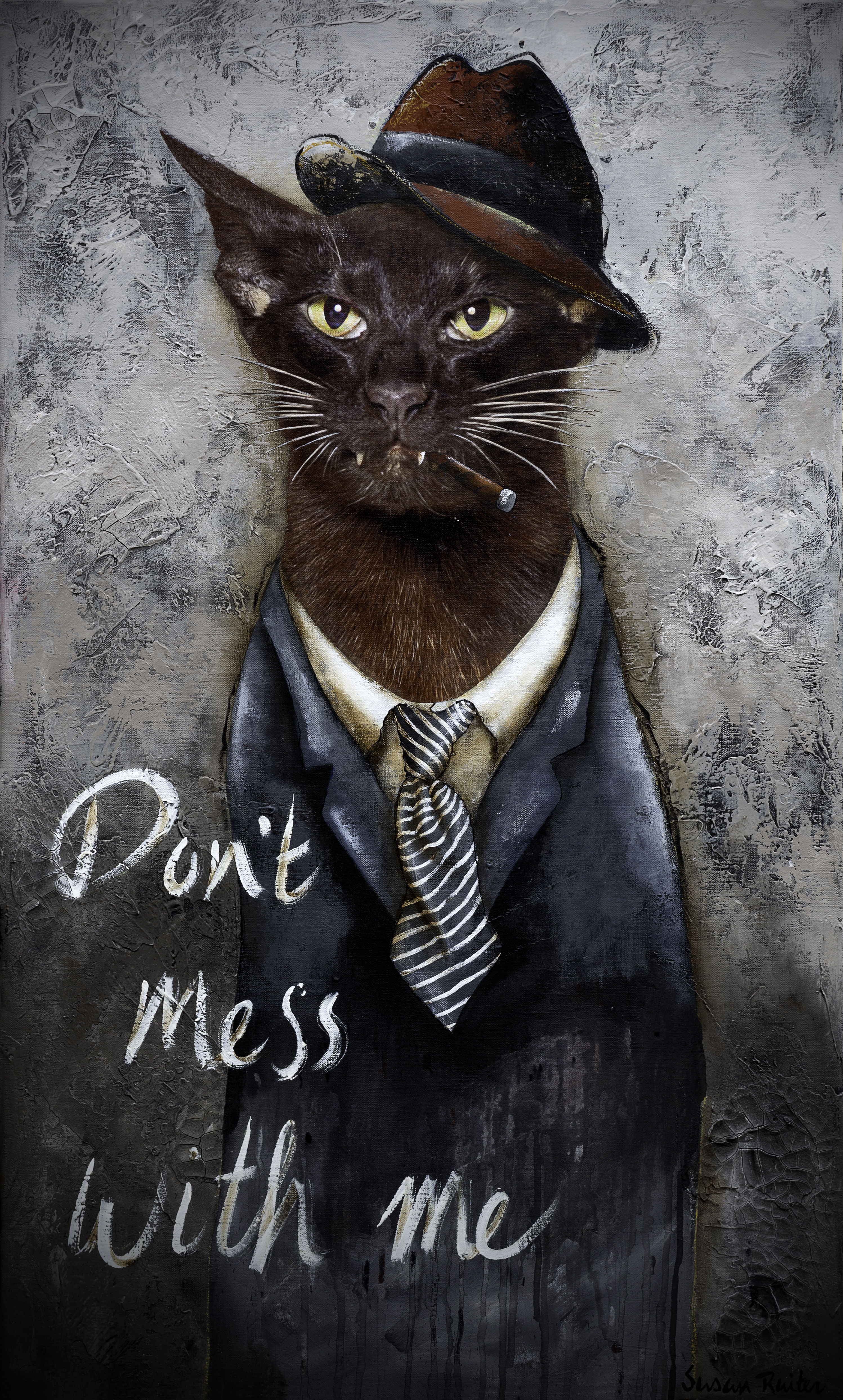 Uitgelezene Don't mess with me | Online Gallery KR-45